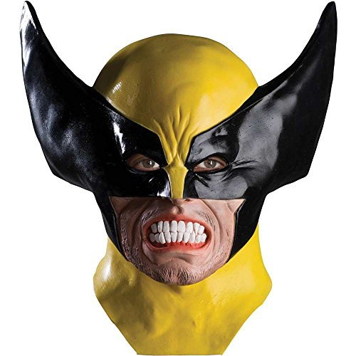 Wolverine Deluxe Costume - Deluxe Wolverine Mask Costume Mask