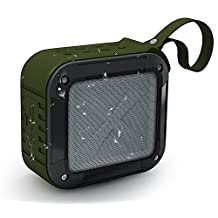 Bluetooth Speakers, BeiLan Wireless Portable Outdoor Waterproof NFC Bluetooth Shower Speakers 3D Sound 10 Hours Play Rechargeable 1500mAh Battery with TF Card Reading Function BS-S7