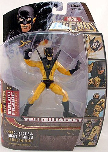 Marvel Legends Series 17 (Hasbro Series 2) Action Figure Yellow Jacket Gold Variant