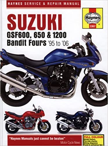 suzuki gsf600 650 and 1200 bandit fours service and repair suzuki gsf600 650 and 1200 bandit fours service and repair manual 1995 to 2006 amazon co uk matthew coombs phil mather 9781844255962 books