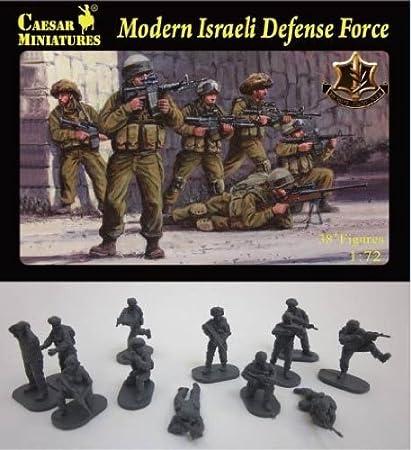 Pegasus Hobby 1/72 Modern Israeli Defense Force Unpainted Military Figures