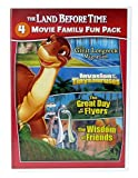 The Land Before Time X-XIII: The Great Longneck Migration, Invasion of the Tinysauruses, The Great Day of the Flyers, The Wisdom of Friends - Movies 10-13