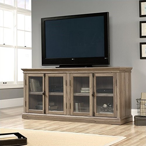 Sauder 414721 Barrister Lane Storage Credenza, For TV's up to 80