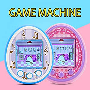 Virtual Electronic Pet Handheld Pet Game Machine, Cute Puppy Dog Virtual Animal Pet Toy, Big Color Screen Electronic Pet…