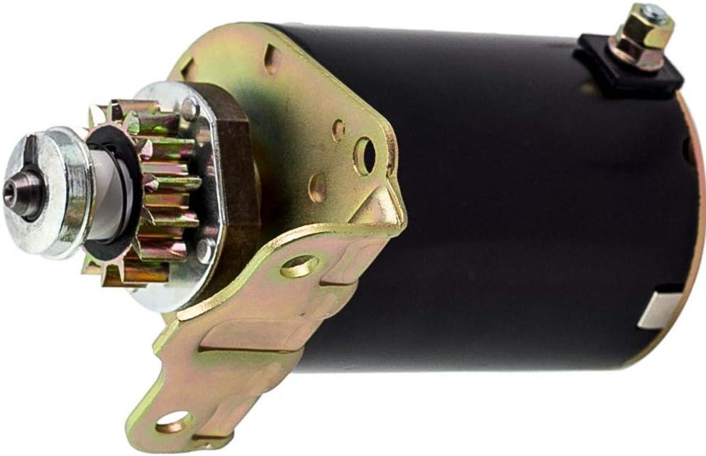 maXpeedingrods Motorino d avviamento starter per John Deere Briggs /& Stratton Lawn Cub Cadet 12/V 14/denti