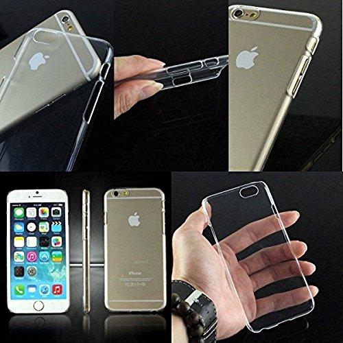 "BestBuy-24 slim-case für handy smartphone apple iphone-6 / iphone-6S mit 4,7"" display, backcase cover Hülle, superdünn 0,3mm, trasnparent klar, flexibel"