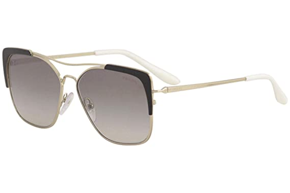 d8602d7bd6 Amazon.com  Prada Women s PR 54VS Square Aviators Sunglasses