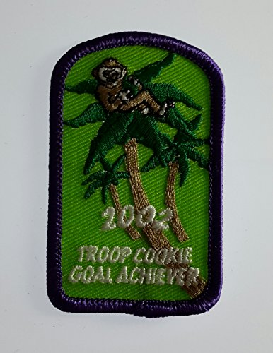 Girl Scout Patch Shirt Jacket 2002 Troop Cookie Goal ()