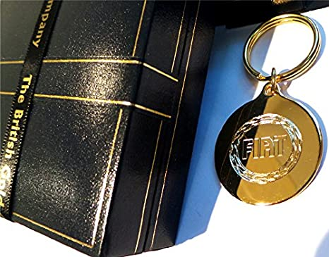 Amazon.com: El llavero British Oro Company Pure 24 K Gold ...