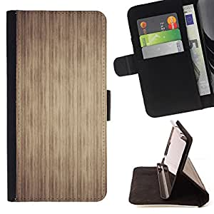 DEVIL CASE - FOR Samsung Galaxy S6 EDGE - Texture Stripes - Style PU Leather Case Wallet Flip Stand Flap Closure Cover
