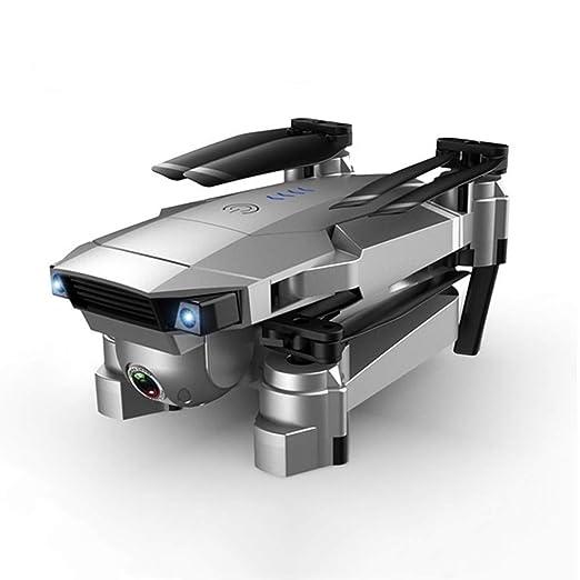 WEIFLY Drone Plegable, 4K Ajuste eléctrico de Doble cámara ...