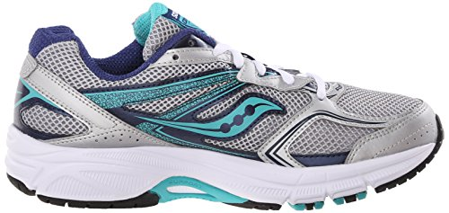9 Women's Cohesion Teal W Saucony Sneakers Top Silver Navy Low PvHwKxpFq