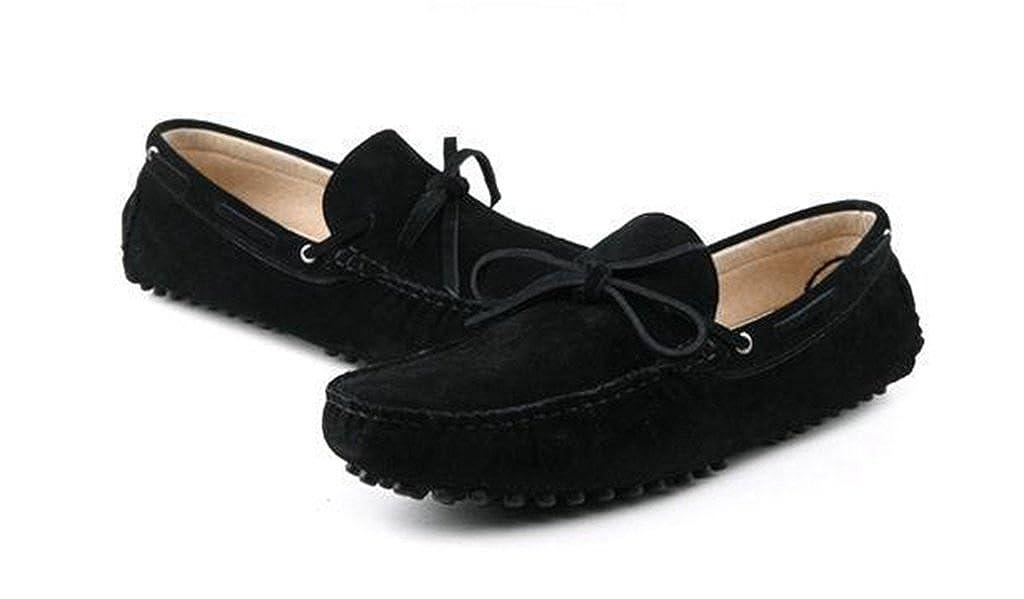 3b5d5d4eaef230 MINITOO Herren  s New Knoten Wildleder Driving Loafer Penny Boot Schuhe