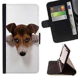 Momo Phone Case / Flip Funda de Cuero Case Cover - Lindo Culpable Doge - HTC DESIRE 816