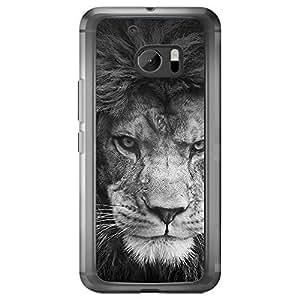 Loud Universe HTC M10 Inspiration Printed Transparent Edge Case - Black