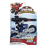 Marvel Ultimate Spider-Man Web Warriors Blast 'N Go Racers Spider Racer