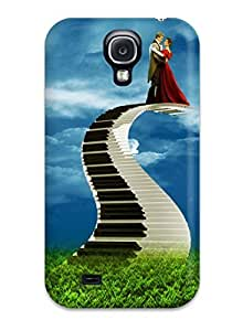 Snap-on Case Designed For Galaxy S4- Digital Art