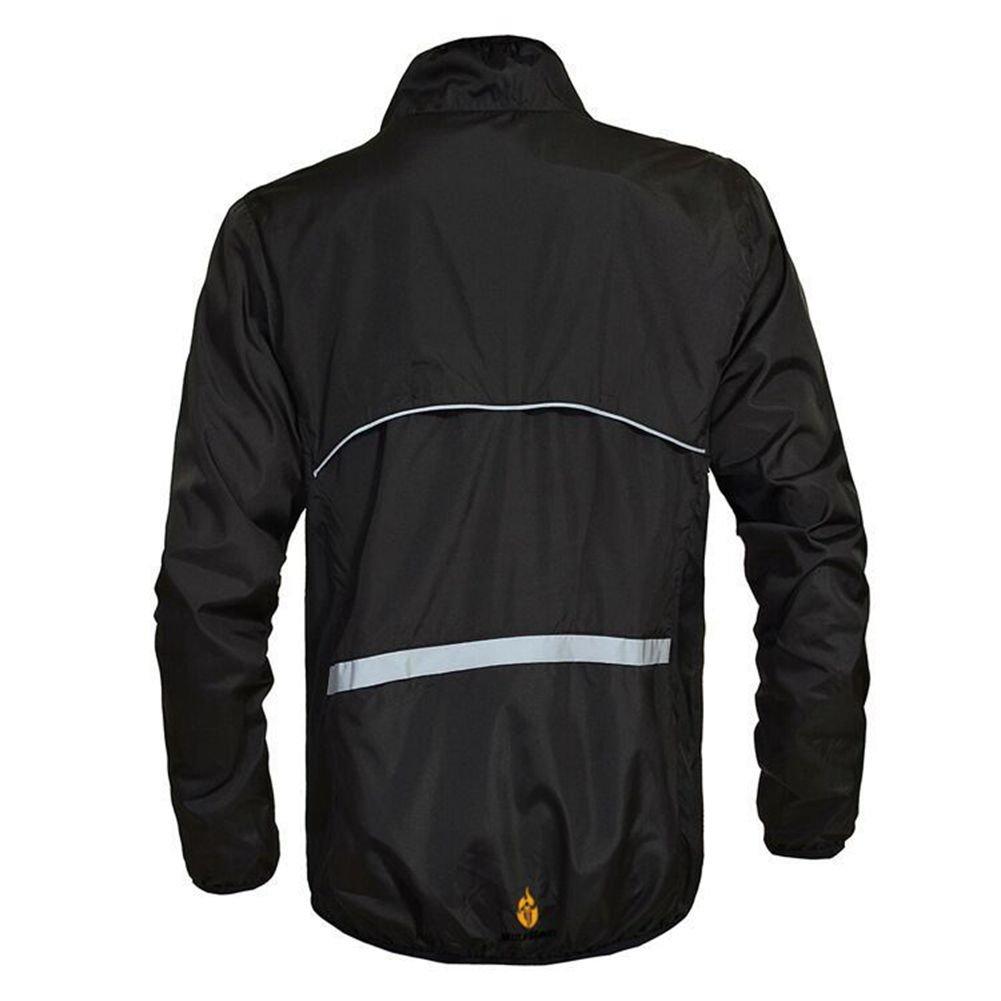 Hulk-sports Outdoor Cycling Jersey Long Sleeve Biking Breathable Shirts Tops Sportswear