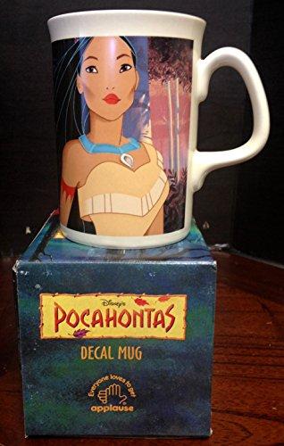 (Pocahontas Mug 1994 Applause Vintage OOP)