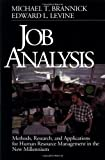 Job Analysis: Methods, Research, and Applications for Human Resource Management in the New Millennium