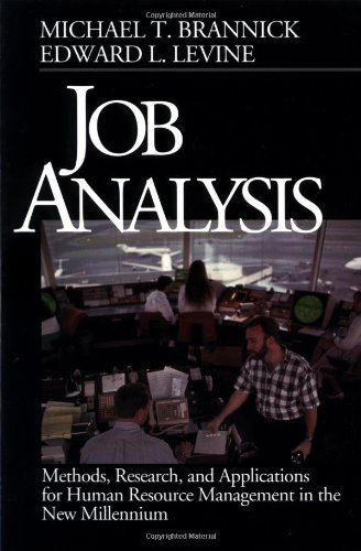 Job Analysis: Methods, Research, and Applications for Human Resource Management in the New Millennium thumbnail