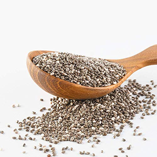 Amrita Foods - Top 14 Allergy Free, Chia Seeds, 1 lb, Unsulfured, No Added Sugar
