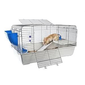 Little Zoo Roger Pioneer R4 conejo Guinea Pig Ferret Jaula: Amazon ...