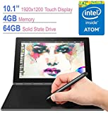 """Newest Lenovo Yoga Book 2-in-1 10.1"""" FHD Touchscreen IPS (1920x1200) Tablet/PC, Quad-Core Intel"""