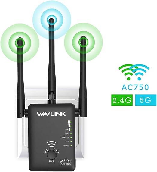KFY 1200Mbps WiFi Extender para el hogar, WiFi Repeater ...
