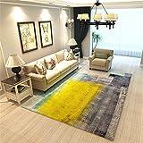 MIRUIKE Polypropylene Area Rugs for Living Room Bedroom Carpet Hypoallergenic Non-Slip 6'x 9',7'x 10'