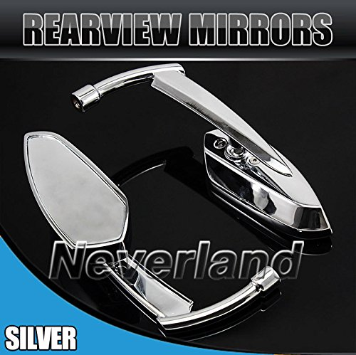 UltaPlay(TM)Universal Aluminum Motorcycle Rear Side Rearview Rear View Mirror For Harley Yamaha Honda Kawasaki Suzuki C20