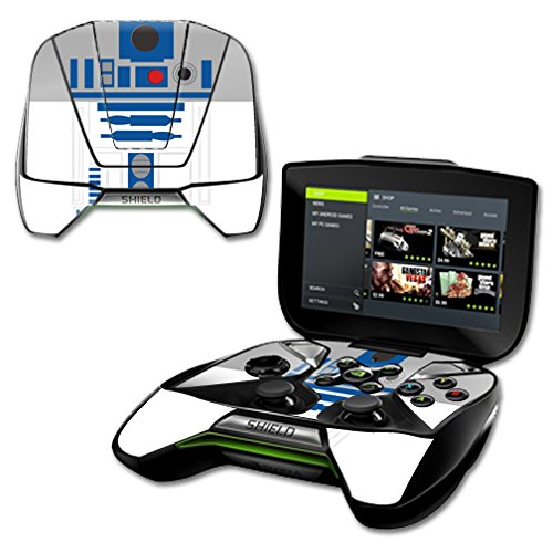 MightySkins Protective Vinyl Skin Decal for NVIDIA Shield Portable wrap cover sticker skins Cyber Bot