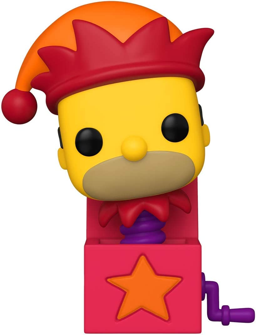 Funko Pop! Animation: Simpsons - Homer Jack-in-The-Box, Multicolour