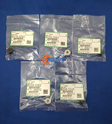 B039-3062 B039-3060 B039-3245 Developer Gear Kit Set for Ricoh Aficio 1015 1018 2015 2018 3025 3030 MP1600 MP2510 MP3010 ()