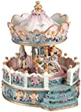Musicbox Kingdom Angel Carousel Decorative Box
