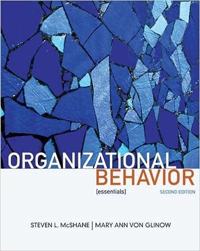 Organizational Behavior Mcshane Pdf