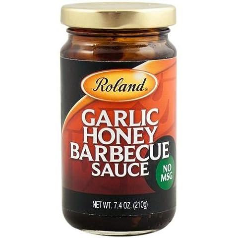 Roland Honey and Garlic Barbecue Sauce, 7.4 Ounce -- 6 per case. (Roland Garlic)