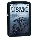 Personalized Message Engraved Customized U.S. Marine Corps. Zippo Indoor Outdoor Windproof Lighter (Style13)