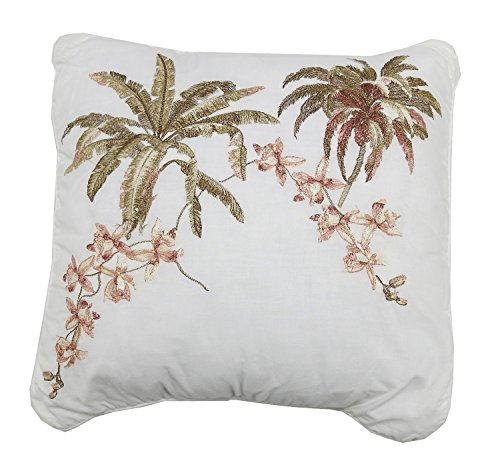 Tommy Bahama Home Bonny Cove 16in x 16in Square Throw Pillow, Multi-Color