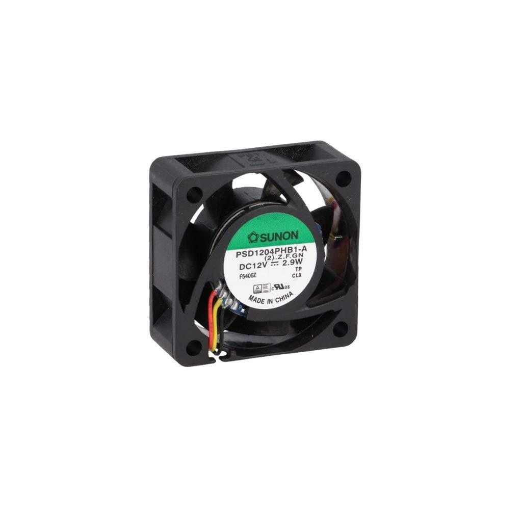 PSD1204PHB1AF fan 40x40x15mm 12V 0.24A 2.9W 12000RPM 23.79m3/h 44.2dBA ball bearing Sunon (PSD1204PHB1-A(2).Z.F.GN) 3-wires