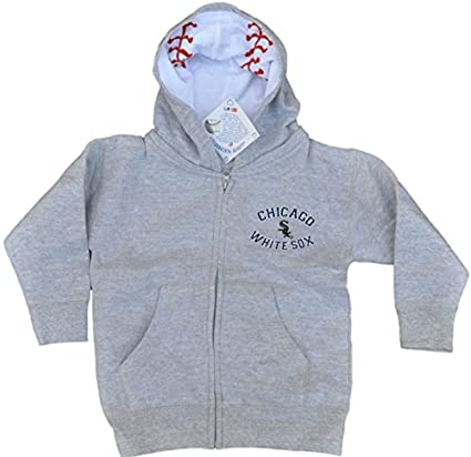 outlet store 01069 eac1c Amazon.com : Chicago White Sox SAAG Infant Gray Logo Zip Up ...