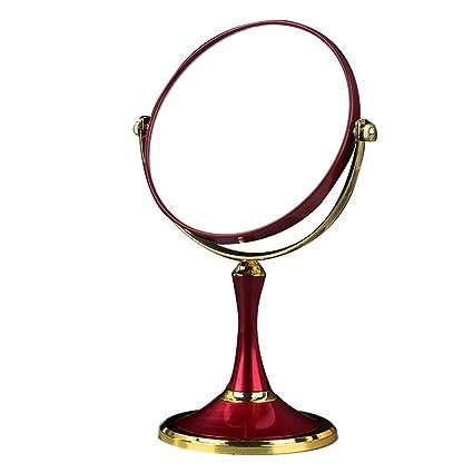 Espejos de mesa con soporte, HD 360 \u0026 deg; Rotación ajustable ...