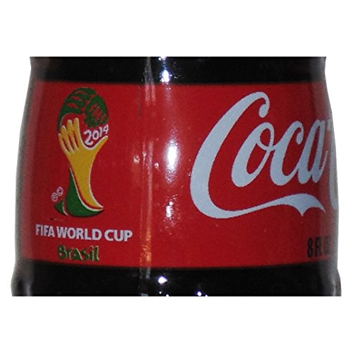 USA FIFA World Cup Brasil Coca-Cola Glass Bottle 2014
