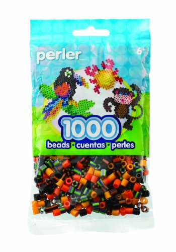 Halloween Perler Patterns (Perler Beads Pumpkin Patch Mix Bead)