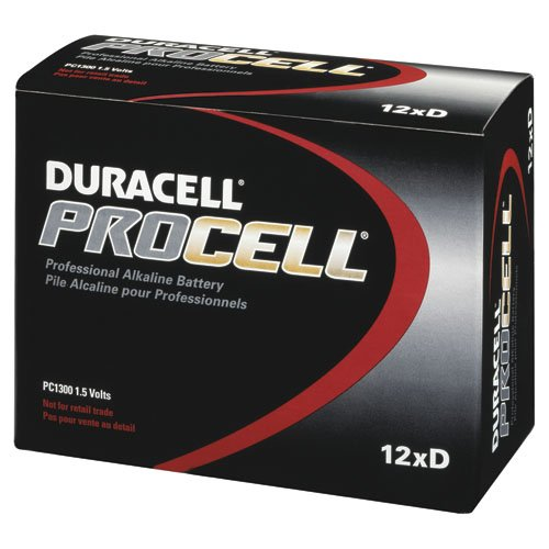 Procter & Gamble DURPC1300 Duracell Procell Alkaline General Purpose Battery