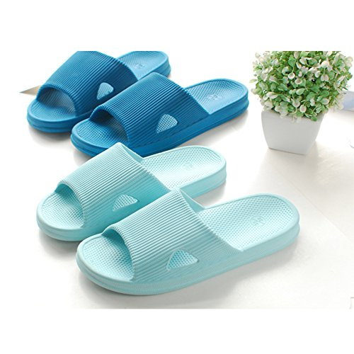 amp;Men Anti Summer WILLIAM Slippers Navy Blue Slippers Casual Household amp;KATE Couple Sandals Slip Slides Women Bathroom Indoor 0I1xq41