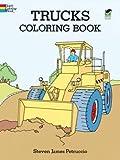 Trucks Coloring Book (Dover Design Coloring Books)