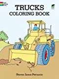 img - for Trucks Coloring Book (Dover Design Coloring Books) book / textbook / text book