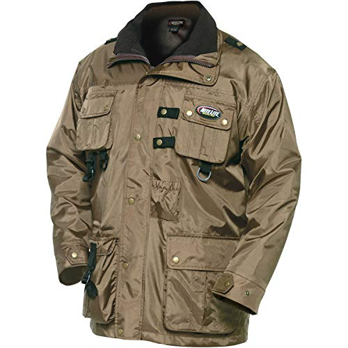 Nite Lite Outdoor Gear Men's 3 Season Deluxe Jacket (Brown, X-Large) Breathable 3 Season Jacket
