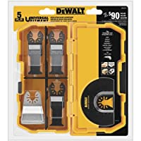 5-Piece DEWALT Oscillating Tool Blades Kit